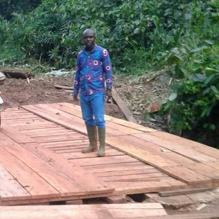 Road and Bridge Repair Project of the Royal House of Sefwi Obeng-Mim